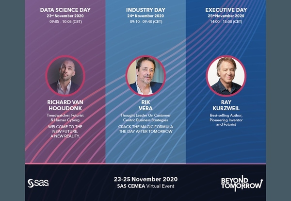 "SAS ""Beyond Tomorrow"" 2020. nov. 23-25."